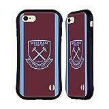 Head Case Designs Licenciado Oficialmente West Ham United FC Casa 2020/21 Kit de Cresta Carcasa híbrida Compatible con Apple iPhone 7 / iPhone 8 / iPhone SE 2020