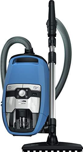 Miele Blizzard CX1 Parquet EcoLine Bodenstaubsauger (ohne Beutel, 2,5 Liter Staubbeutelvolumen, 550 Watt, 11 m Aktionsradius, inkl. flexibler, bodenschonender Parkettbürste und HEPA-Filter) blau