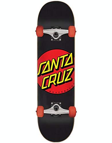 Santa Cruz Kinderskateboard Komplettboard Classic Dot 7.25