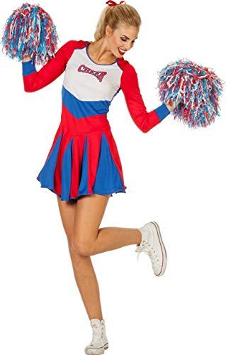 Wilbers Damen Cheerleader Kleid Cheer Leader Gr. 44