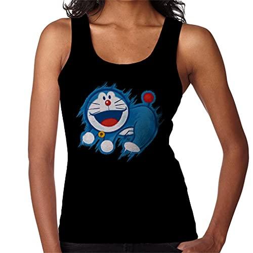 Doraemon The Time King Women's Vest