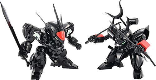 Mashin Hero Wataru: Plamax Ms-04 Black Ryujinmaru & Senjinmaru Plastic Model Kit Set