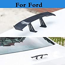 ChenghuaguoChenghuaguo 2019 New Car Styling auto Spoiler Mini Rear Wing Sticker for Ford Fiesta Fiesta ST Five Hundred Flex Focus RS Focus ST Freestyle
