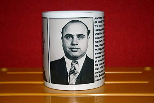 Funny Mugs Al Capone – Scarface – Chicago Outfit – Mugshots Collection