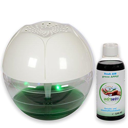 winwin clean Systemische Reinigung - AIR Blow I UV-ENTKEIMUNG I MIT LUFTREINIGER-Konzentrat Fresh AIR Green Apple 500ml