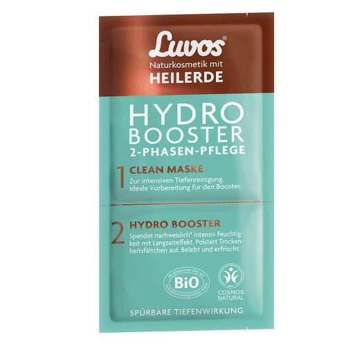 LUVOS Heilerde Hydro Booster&Clean Maske 2+7,5ml 1 P Gesichtsmaske
