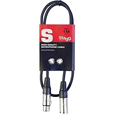 Stagg SMC1 1 Metre Microphone Cable XLR-m to XLR-f