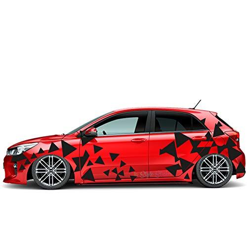 Auto Seitenaufkleber Sticker Dreieck Sticker Car Tattoo i30n