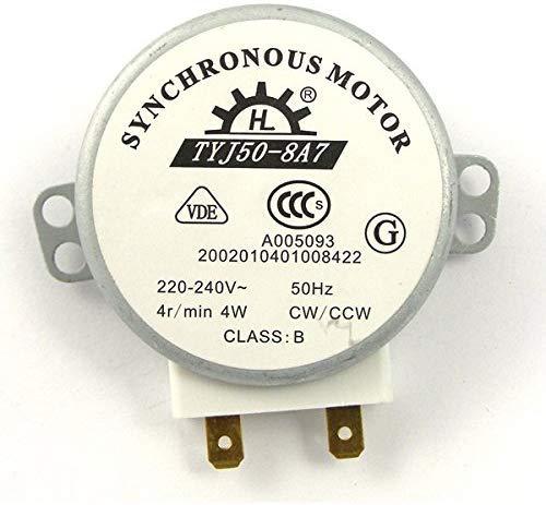 ROSENICE TYJ50-8A7 220V-240V 4 RPM 4W CWCCW horno microondas