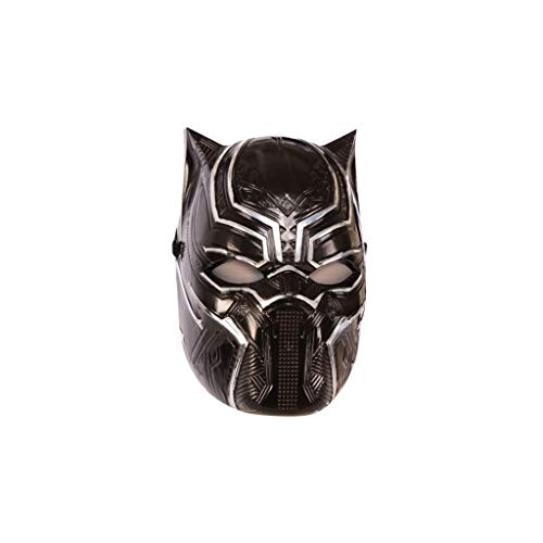 Marvel - Mscara de Black Panther (Pantera Negra), Talla nica infantil (Rubie's 39218)