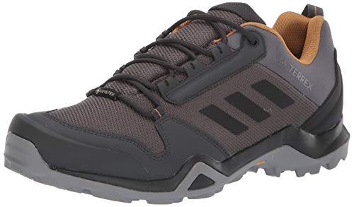 adidas outdoor Men's Terrex AX3 GTX Hiking Boot, Grey FiveBlackMesa, 11.5 M US