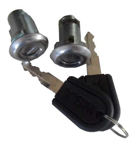 Kit serrures de nuit pour portes avec clé AIXAM LIGIER MICROCAR CHATENET