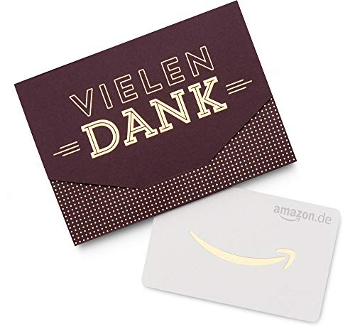 Amazon.de Geschenkkarte in Geschenkkuvert (Vielen Dank)
