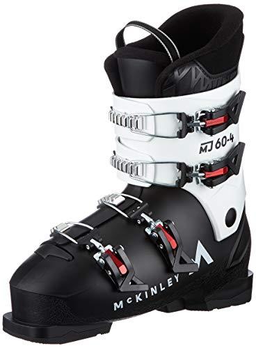 McKinley Mj60-4 - Scarponi da sci unisex, scarponi da sci, 409192, nero/bianco/rosso., 24