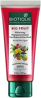 Biotique Bio Fruit Whitening and Depigmentation Face Pack, 100g