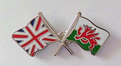 1000 drapeaux du Pays de Galles et drapeau du Royaume-Uni