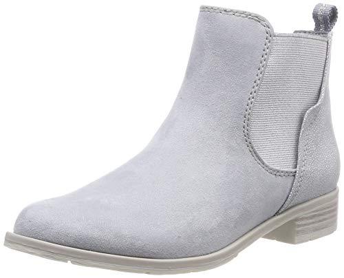 MARCO TOZZI Damen 2-2-25305-32 Chelsea Boots, Blau (Sky Comb 857), 38 EU