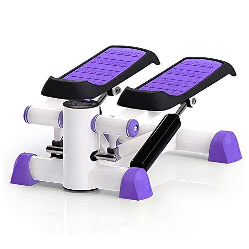 ZTKBG Paars Stepper Sport Pedaal Home Fitness Stovepipe machine met oefeningen en gewicht-verliesmachine, kan gewicht dragen 100 kg, 42 x 33 x 25 cm