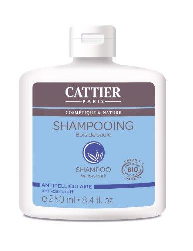 Cattier Shampooing Antipelliculaire Bois de Saule 250 ml Lot de 2