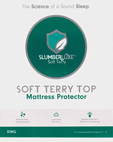 Slumber Shield Fitted Mattress Protector (Queen)
