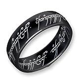 Herr der Ringe Schumann Design Ring Titan-Blackline Rg 66 2001-066