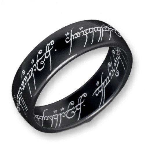 Herr der Ringe Schumann Design Ring Titan-Blackline Rg 60 2001-060