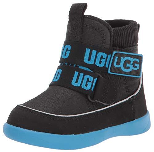 UGG Kid's Male Tabor Boot, Black, 10 (UK), 28.5 (EU)