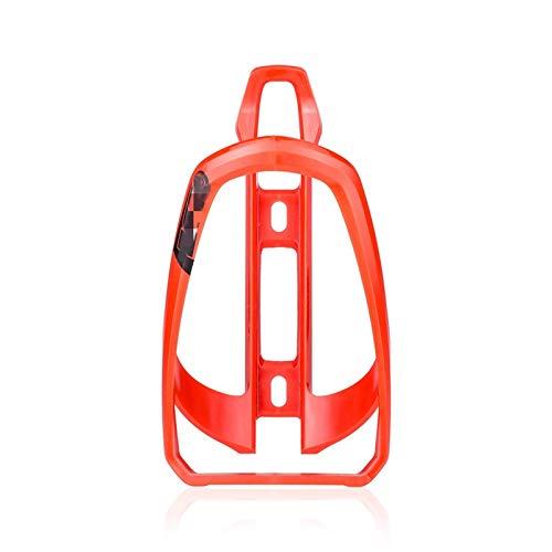 Portabottiglie per bicicletta, portabottiglie, portabottiglie per bicicletta, portabicchieri per bicicletta all'aperto (dimensioni: come mostrato; colore: rosso)