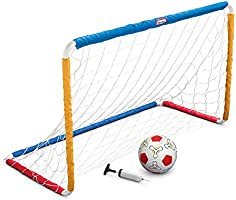 Little Tikes Easy Score Soccer Set Game Outdoor Toys for Backyard Fun Summer Play - Goal with Net, Soccer Ball, and Pump...