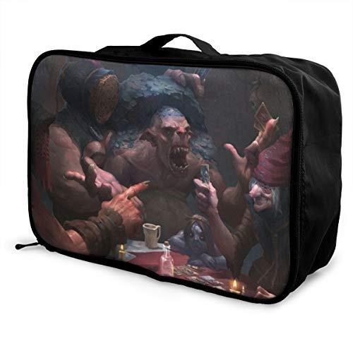 GWENT Reisetasche, wasserdicht, leicht, große Kapazität, tragbar