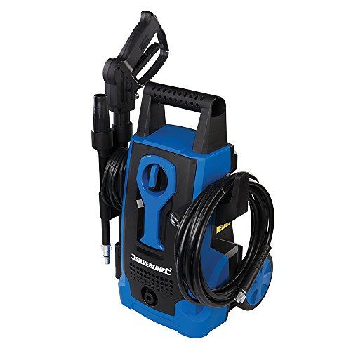 Silverline Tools 943676 Idropulitrice, blu, 834832 1400W, 240V