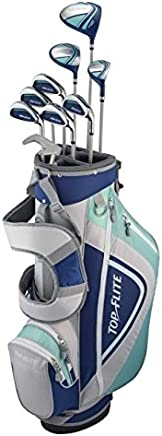 Top Flite Womens XL 12-Piece Complete Golf Set (Graphite) RH Blue/Grey New 2018