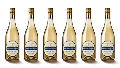 Martin Schongauer Spätburgunder Blanc de Noir Pinot 2018 trocken (6 x 0.75 l)