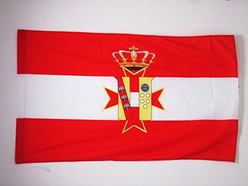 AZ FLAG Drapeau Grand-duché de Toscane 1569-1859 90x60cm - Drapeau Italien Ancien - Italie 60 x 90 cm Fourreau pour hampe