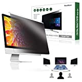 "(BozaBoza) Easy On/Off Privacy Filter 22"" Removable Acrylic (for 22"" Universal Diagonally Measured 16 : 9/16 : 10 Aspect Ratio) Privacy Screen for Laptop, Notebook, Monitor"