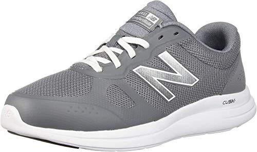 New Balance Men's Cush+ Versi V1 Cushioning Running Shoe, Gunmetal, 7.5 4E US