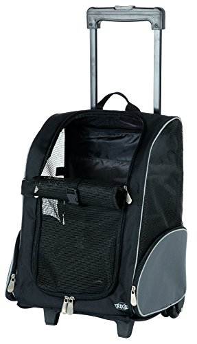 Trixie 2880 Trolley, 32 × 45 × 25 cm, schwarz/grau
