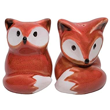Foxy Salt & Pepper Shaker Set