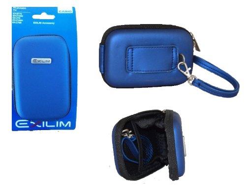Casio Exilim Hardcase Tasche blau für EX-Z28 EX-ZS12 EX-Z690 EX-N50 EX-N5 EX-ZS30 EX-N10 EX-N1 EX-ZS15 EX-ZS5 EX-ZS10 EX-Z800 EX-Z330 EX-Z25 EX-Z90 EX-Z450 EX-Z280 EX-Z2 EX-Z21 EX-S12 EX-Z1 EX-Z400 EX-Z270 EX-FS10 EX-Z300 EX-Z250 EX-Z85 EX-Z150 EX-Z