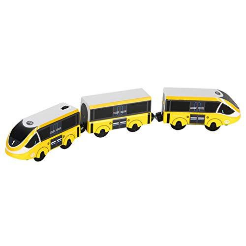 Juguete de tren eléctrico, tren eléctrico, locomotora para niños, regalo de cumpleaños (batería no incluida)