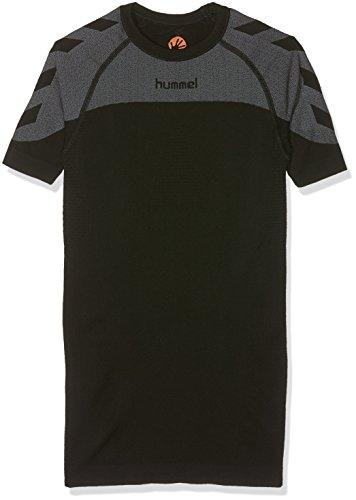 Hummel Kinder First Comfort Short Sleeve Jersey Trikot, Schwarz, 140-152