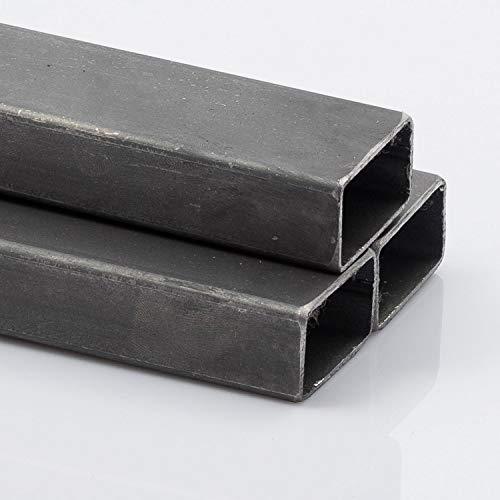 Stahl Rechteckrohr 40 x 20 x 2 mm 2000 mm
