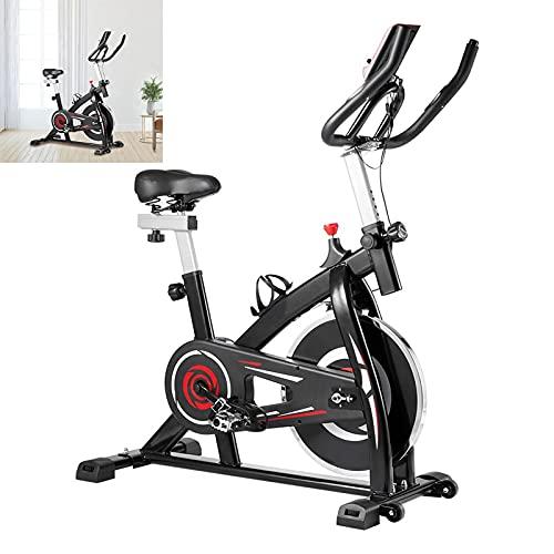 Cyclette Con trasmissione a cinghia silenziosa Spin bike Sensori palmari Cyclette diadora Per allenamento di resistenza