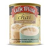 Caffe D'Vita Spiced Chai Tea Latte 1 lb. can (16 oz.)