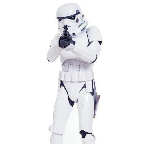 Pappaufsteller Star Wars Stormtrooper Aufsteller Standup Figur Kinoaufsteller Pappfigur Cardboard Lebensgroß Life-Size Standup