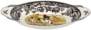 Spode Woodland Hunting Dogs Bread Tray (Dog Scene)