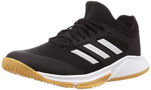 adidas Herren Court Team Bounce M Leichtathletik-Schuh, Kern Schwarz Silber Met FTWR Weiss, 39 1/3 EU