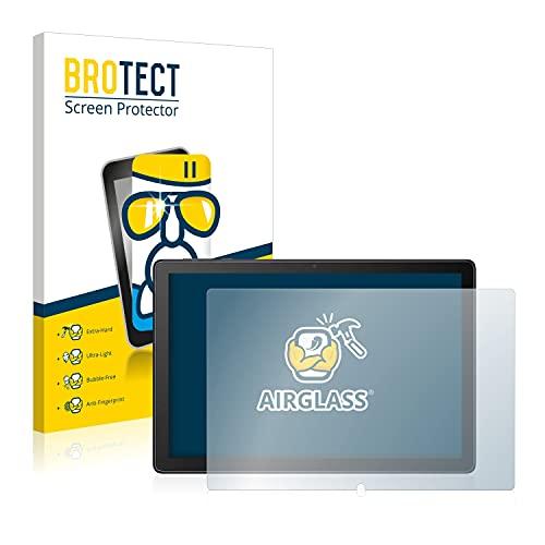 BROTECT Panzerglas Schutzfolie kompatibel mit Alcatel 1T 8092 - AirGlass, extrem Kratzfest, Anti-Fingerprint, Ultra-transparent