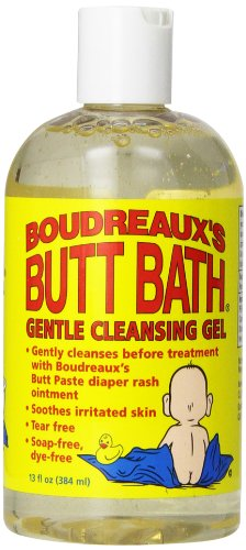 Boudreaux's Butt Bath Gentle Cleansing Gel, 13 Ounce