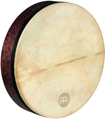 Meinl Percussion FD18T-D Deep Shell Tar, Frame Drum mit Ziegenfell, 45,72 cm (18 Zoll) Durchmesser, brown burl